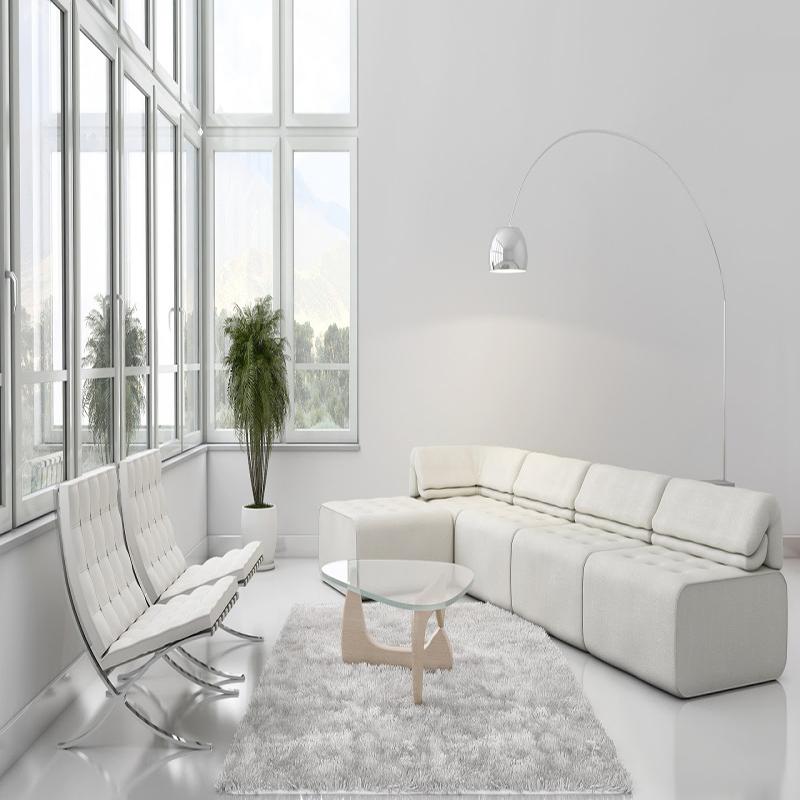 دیوار پوش سفید
