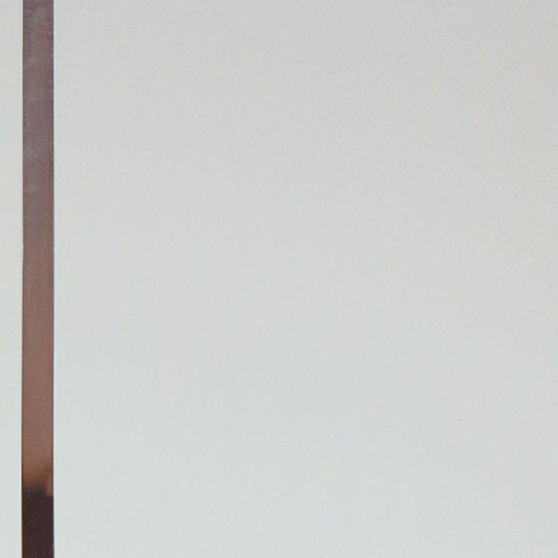 دیوارپوش H-13 (سفید براق نوار دار)