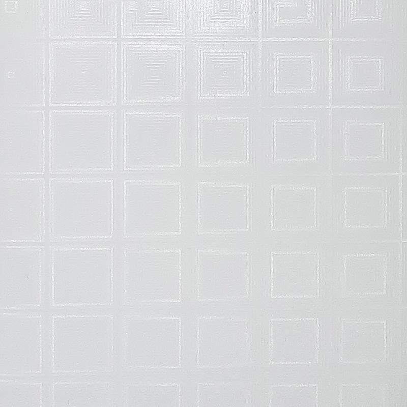 دیوارپوش P-951 (تلسکوپی مربعی سفید)