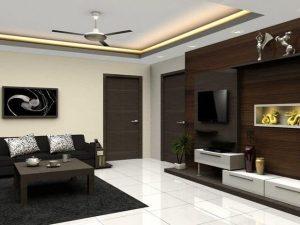ساده ترین طرح سقف کاذب برای سالن ها